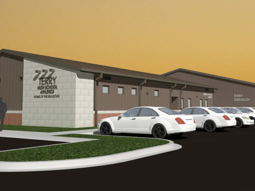 TERRY HIGH SCHOOL:  MULTI-SPORT FIELD HOUSE