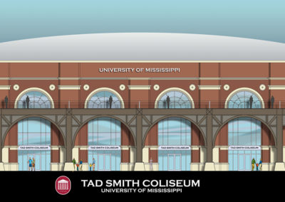 UNIVERSITY OF MISSISSIPPI:  TAD SMITH COLISEUM RENOVATIONS